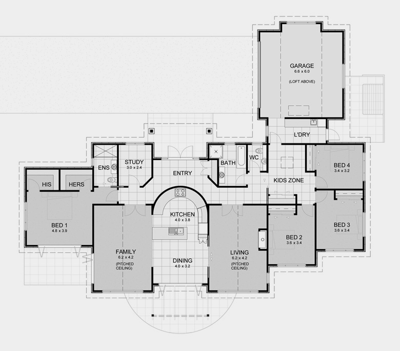 awesome lifestyle house plans #3: Lifestyle House Plan 6