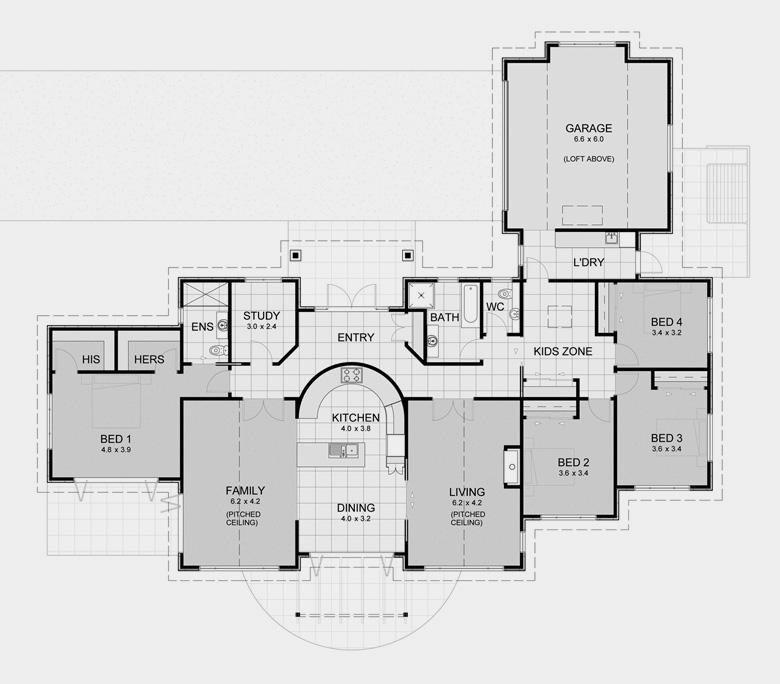 Custom luxury home builders nz for David homes floor plans