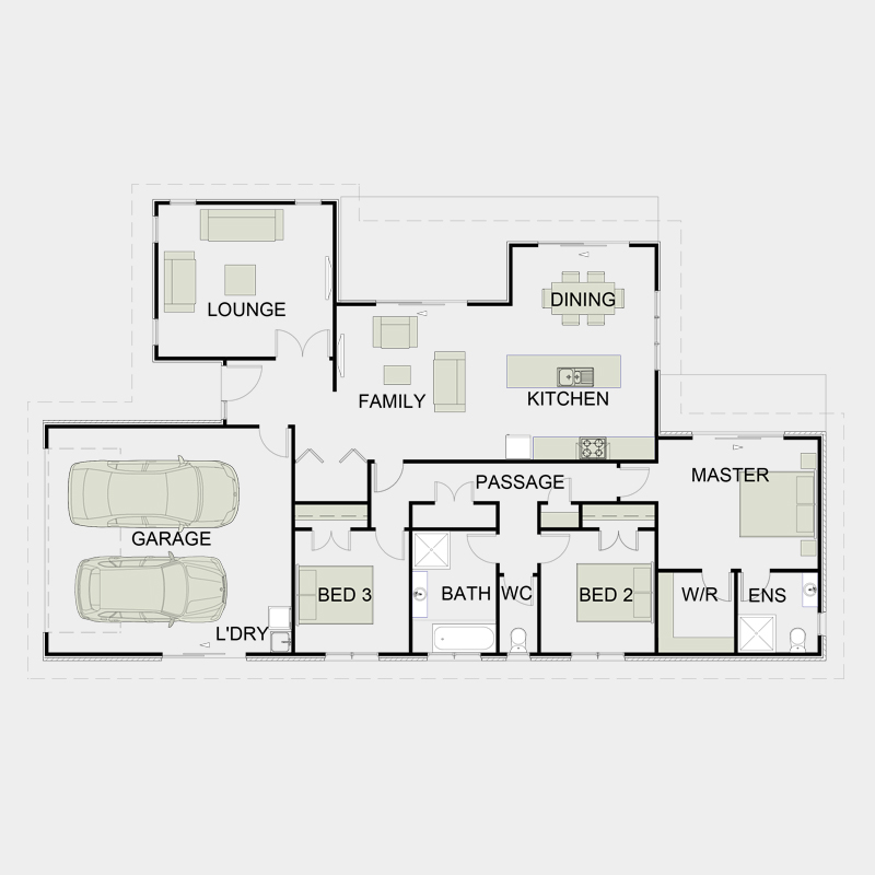 Simple Functional Floor Plans 7