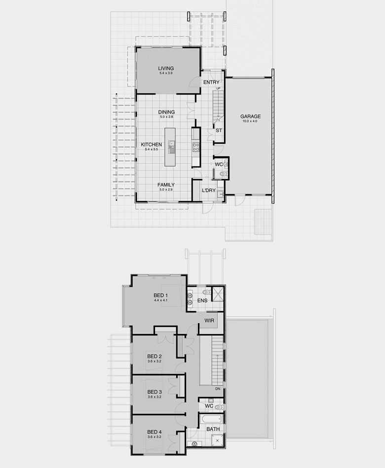 Contemporary House Plan 6