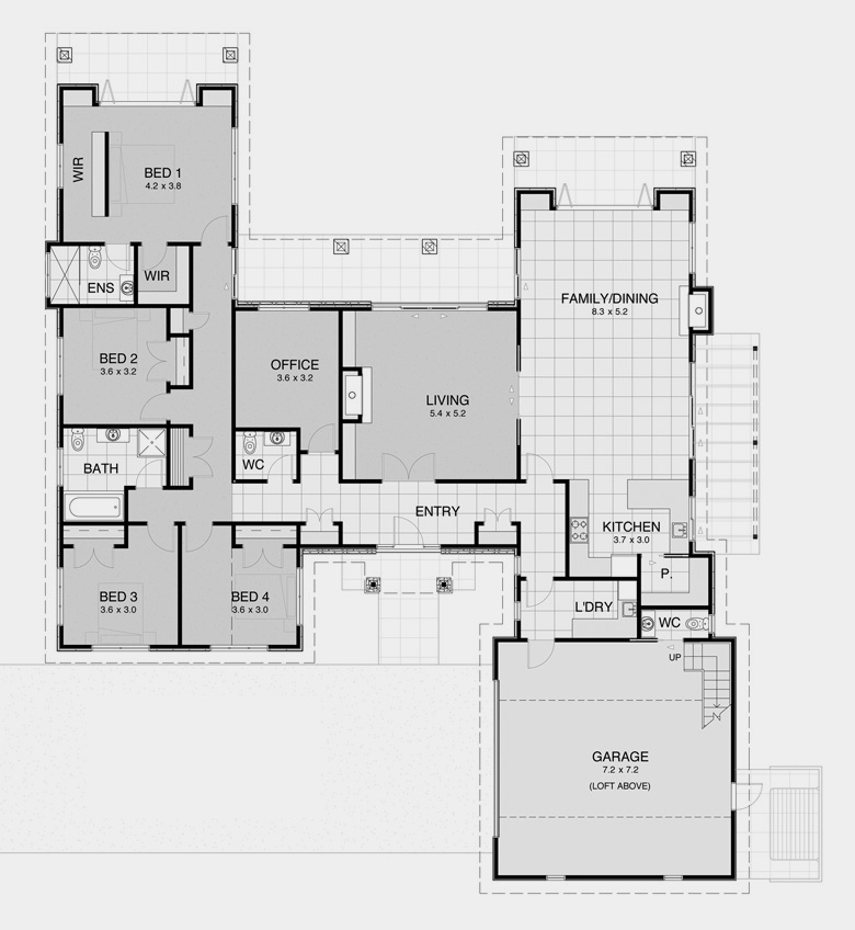 Traditional House Plans 2