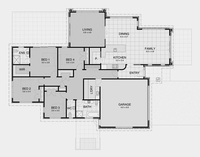 Traditional House Plans 4