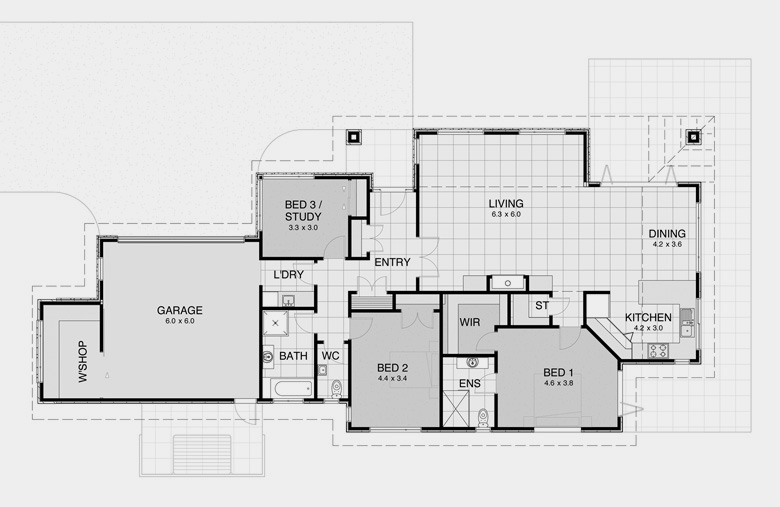 Traditional House Plans 5
