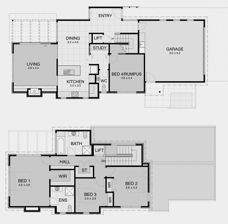 House Plans for Smaller Land Areas 2