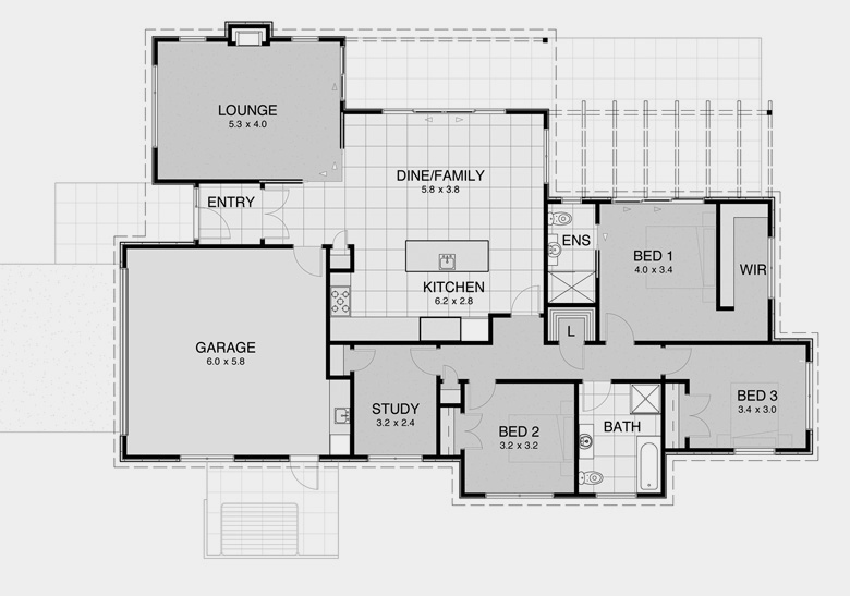 Bach house plans house design plans for Bach floor plans