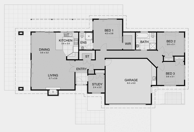 House Plans for Smaller Land Areas 6
