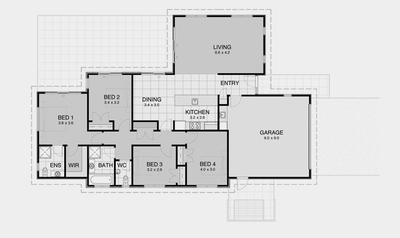 House Plans for Smaller Land Areas 7