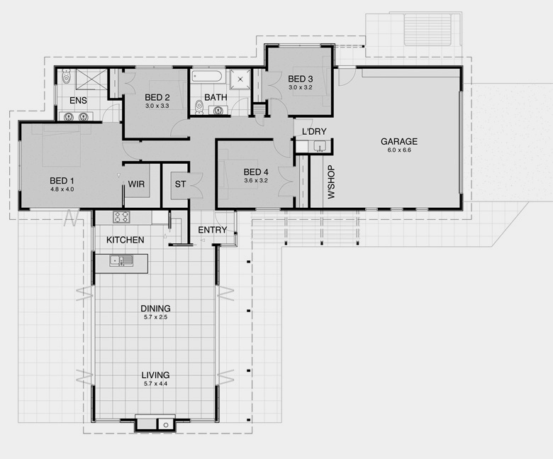 Prime Plan 8 House Plans For Compact Design Solutions: pavilion style house plans