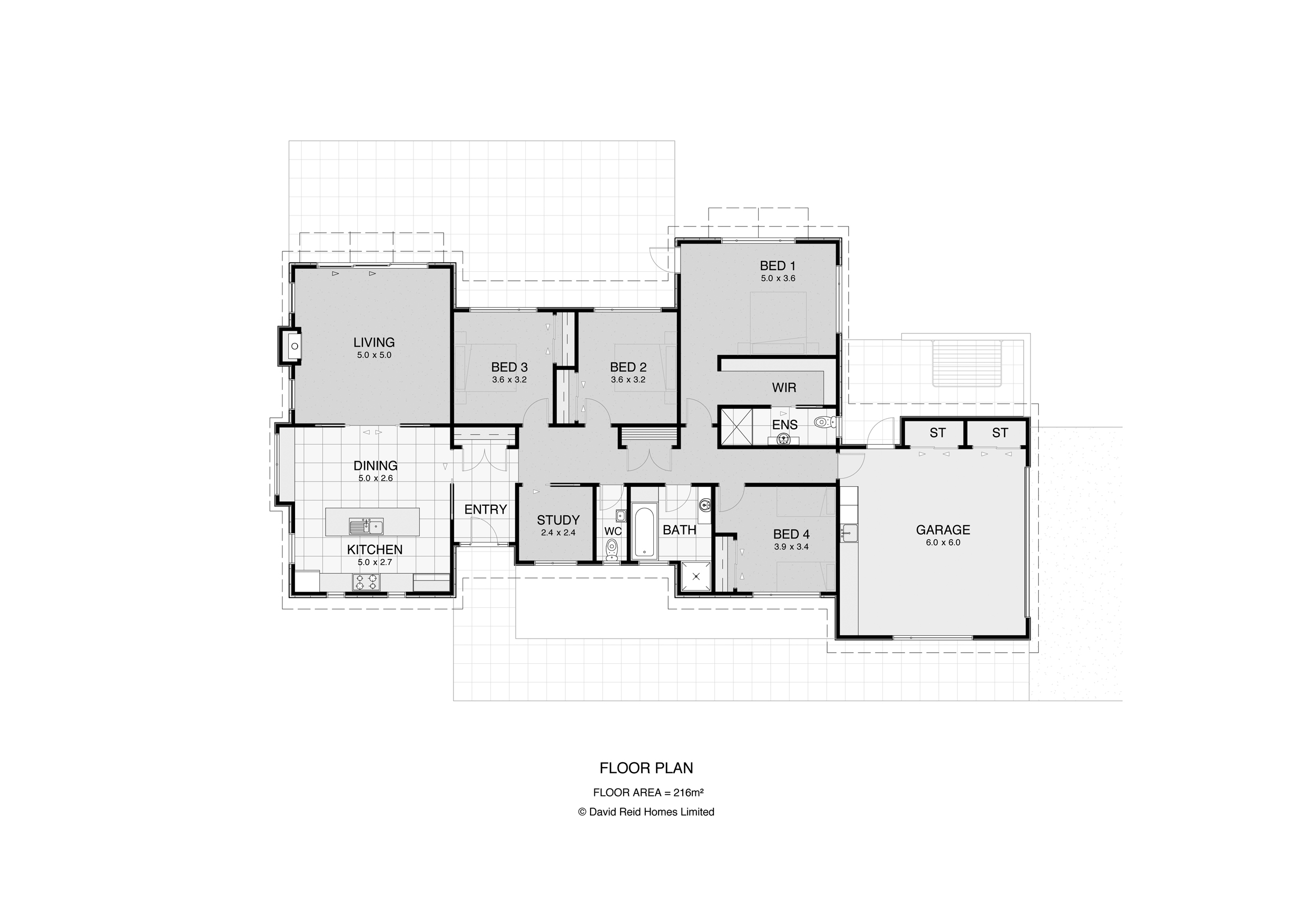 Contemporary House Plan 2